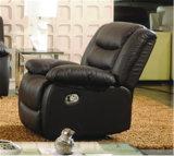 Sofá del cuero genuino de la sala de estar (C874)