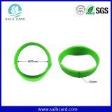 13.56MHz 125kHz passiver SilikonRFID Wristband für Ereignisse