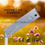 Solarstraßenlaternedes Sonnenkollektor-18W integriertes einteiliges LED