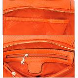악어 패턴 여자의 어깨 핸드백