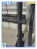 Régua de plástico reforçado com fibra de vidro de segurança montados cerca, linha GRP