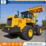 Machines van de Bouw van China de Voor de Lader van het Wiel van 5 Ton met Bedieningshendel