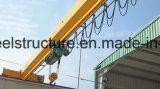 Le LD tapent à élévateur électrique de câble métallique la grue simple de pont à poutres