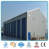 Мастерская фабрики стальной структуры рамки SGS Approved полуфабрикат светлая портальная (SH-672A)