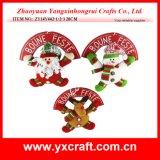 Décoration de Noël (ZY14Y442-1-2-3 20cm) signe de bienvenue de la chambre de Noël