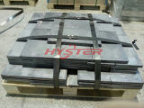高品質ASTM A532 15/3crmo Domite White Iron Wear Plate Laminated Wear LinersのBiMetal Wear Plate