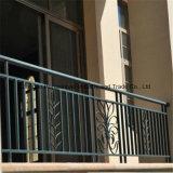 Barandillas de la escalera del hierro labrado a modificar para requisitos particulares