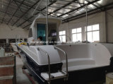 8.1mの工場ガラス繊維の漁船