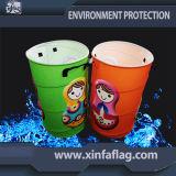 Caixote De Resíduos Outdoor Colorido / Caixão De Composto / Dustbin / Lata De Lixo / Lixeira
