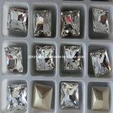 China-Fabrik-dekorative bleifreie Kristallraupen für Kleid-Zubehör