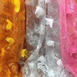 Много ткань шнурка конструкций горячей продавая вышитая 3D для платья