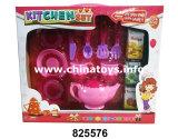 Conjunto educativo de la cocina de los juguetes de la fábrica del juguete, cocinando el juguete del té (825575)