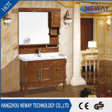 純木の浴室の虚栄心を立てる旧式な床