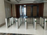 TCP / IP Fast Pass Auto Security Speed ​​Lane Turnstile com leitor de RFID