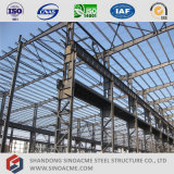 Overhead Crane를 가진 Sinoacme Pre-Engineered Light Steel Structure Workshop Building