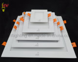 Il comitato quadrato di Llight del soffitto del tondo LED di RoHS del Ce del dispositivo LED del soffitto illumina la materia prima SKD di illuminazione di comitato 6W 12W 15W 18W 24W 48W 600X600