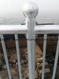 임시 담 또는 해변 담 또는 직류 전기를 통한 강철판 또는 방호벽