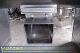 Misturador do sulco ou da calha para o pó químico