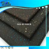 Pavimento de borracha de pavimento de flexibilidade antiestática de alta qualidade