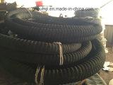 La taille de 4 pouces de couleur noire flexible en caoutchouc haute pression 100