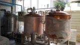 Van de Micro- van het Koper van Duitsland van het Gebruik van het huis 500L de Apparatuur Brouwerij van het Bier