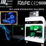 машина вытравливания гравировки лазера 3D Crytsal (HSGP-4KB)