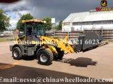 Carregadeira de rodas Wl160 com mini tractor para construção