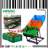 Obst- und GemüseRampen-Supermarkt-Fach