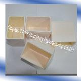 Crogiolo di ceramica dell'allumina resistente a temperatura elevata