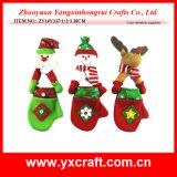 Выборы Xmas украшения войлока рождества украшения рождества (ZY14Y223-1-2-3)