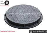Petrol Stationのための長いLife Span En124 SMC Composite Manhole Cover Designed