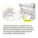 HK-N207 2機能手動病院用ベッド(医療機器、病院の家具)