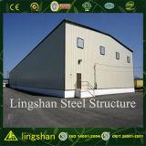 Bâtiment en acier industriel extensible d'entrepôt en métal