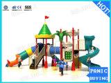 Los niños de plástico al aire libre equipos de juego CS-021