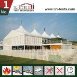 Белый огнезамедлительный конференц-зал шатров двойного Decker 10X 10m алюминиевый, офис Temporay для сбывания