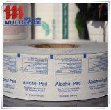 Papel de papel de aluminio del uso médico para la esponja del alcohol