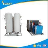 Stickstoff-Verbrauch und Ingenieure erhältlich Maschinerie-Überseekundendienstzur verfügung gestellten Psa-Stickstoff-Generator instandhalten