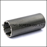Perfil de ranura de soldadura de alambre envuelto de filtro de tubo de Vela