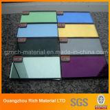 Hoja de acrílico plástica del espejo del color de la cinta adhesiva