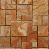 Buntes Onyx-Mosaik, quadratischer Marmorstein, Wand-Fliese