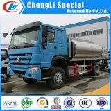 Camion di spruzzatura del distributore dell'asfalto del bitume Heated di HOWO 6000L