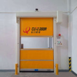 Tela do PVC para a porta industrial da alta velocidade do rolo