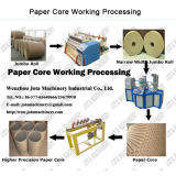 Bobinadora automática de tubo de núcleo de papel espiral