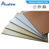 El panel decorativo de aluminio compuesto incombustible aislado construcción