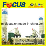 ISO&Ce 증명서 안정되어 있는 상승 호퍼 구체적인 섞는 플랜트 50m3/H