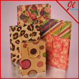 Bolsas de presente de ouro rosa embutidas rosa Sweetheart