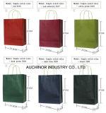 Sacchetti di elemento portante bianchi della carta kraft di fabbricazione del sacchetto di acquisto