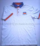 Neues kundenspezifisches Baumwollpikee-Ineinander greifen-Arbeitskleidungs-Arbeits-konstantes Tuch-Overall-Shirt-Polo-Hemd