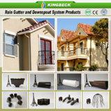 Gute Preis-Quadrat PVC-Regen-Wasser-Rinne