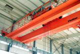 10ton viga doble puente grúa en el seguimiento de la rampa (QD)